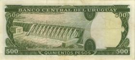 Uruguay P.048 500 Pesos (1967) (3)