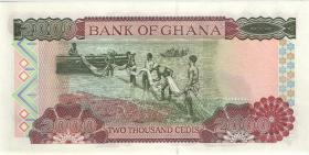 Ghana P.33g 2000 Cedis 2002 (1)