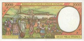 Zentral-Afrikanische-Staaten / Central African States P.603Pd 20000 Francs 1997 (1)