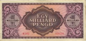 Ungarn / Hungary P.125 1 Mrd. Pengö 1946 (3)