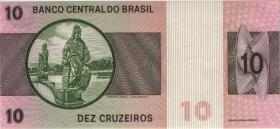Brasilien / Brazil P.193b 10 Cruzeiros (1974) (1)