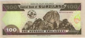 Swasiland / Swaziland P.33 100 Emalangeni 2004 (1) AB0000109