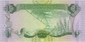 Libyen / Libya P.48 1/2 Dinars (1984) (1)