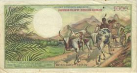 Madagaskar P.59 1.000 Franc = 200 Ariary  (1966) (4)