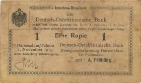 R.918e: 1 Rupie 1915 G Überstempelung Z (3)