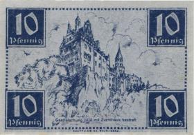 R.215a: Württemberg 10 Pf. 1947 A (1)