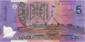 Australien / Australia P.57e 5 Dollars (20)07 Polymer (1)