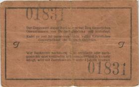 R.923b: Deutsch-Ostafrika 1 Rupie 1915 J (3-)