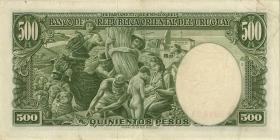 Uruguay P.044 500 Pesos (1967) (3)