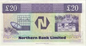 Nordirland / Northern Ireland P.195b 20 Pounds 1990 (2)