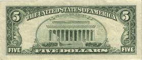 USA / United States P.481a 5 Dollars 1988 (3)