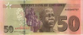 Zimbabwe P.105 50 Dollars 2020 (1)