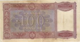 Albanien / Albania P.08 100 Franga (1940) (4)