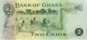 Ghana P.14a 2 Cedis 1972 (1)