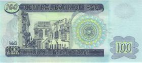 Irak / Iraq P.087 100 Dinars 2002 (1)