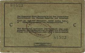 R.910j: Deutsch-Ostafrika 5 Rupien 1915 C (3)