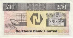 Nordirland / Northern Ireland P.194a 10 Pounds 1989 (2)