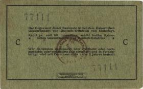 R.910j: Deutsch-Ostafrika 5 Rupien 1915 C (1-)