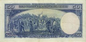Uruguay P.038b 50 Pesos 1939 (3+)