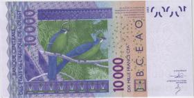 West-Afr.Staaten/West African States P.318Cm 10.000 Francs 2013 Burkina Faso (1)