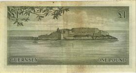Guernsey P.45a 1 Pound (1969-75) Serie C (3-)