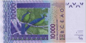 West-Afr.Staaten/West African States P.318Cb 10.000 Francs 2004 Burkina Faso (1)