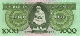 Ungarn / Hungary P.176b 1.000 Forint 1993 (1)