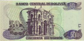 Bolivien / Bolivia P.235 50 Bolivianos (2007) Serie H (1)