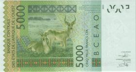 West-Afr.Staaten/West African States P.317CI 5000 Francs 2012 Burkina Faso (1)