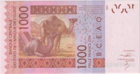West-Afr.Staaten/West African States P.315Cn 1000 Francs 2014 Burkina Faso (1)