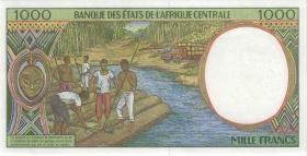 Zentral-Afrikanische-Staaten / Central African States P.202Ee 1000 Francs 1998 (1)