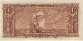 Uruguay P.035a 1 Peso 1939 Serie B (1)