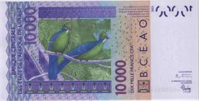 West-Afr.Staaten/West African States P.918Sa 10.000 Francs 2003 Guinea-Bissau (1)