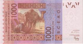 West-Afr.Staaten/West African States P.315Cb 1000 Francs 2004 Burkina Faso (1)