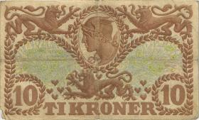 Dänemark / Denmark P.31g 10 Kroner 1939 P (3)