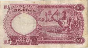 Nigeria P.08 1 Pound (1967) (3)