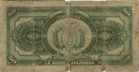 Bolivien / Bolivia P.110 50 Bolivianos 1911 (6)