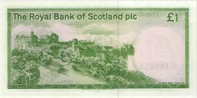 Schottland / Scotland P.341Ab 1 Pound 17.12.1986 (1)