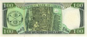 Liberia P.30d 100 Dollars 2008 (1)