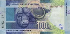 Südafrika / South Africa P.141a 100 Rand (2016) (1)