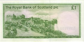 Schottland / Scotland P.341Ab 1 Pound 17.12.1986 (2/1)