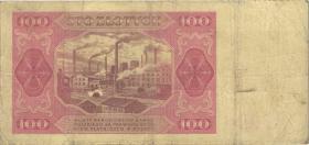 Polen / Poland P.139 100 Zlotych 1948 (4)