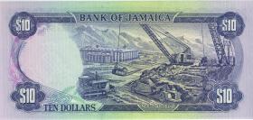 Jamaika / Jamaica P.67b 10 Dollars 1981 (1)