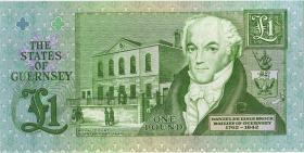 Guernsey P.52a 1 Pound (ab 1991) K 000099 (1)