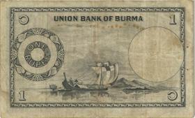 Burma P.38 1 Rupie (1953) (3)