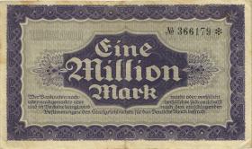 R-SAX 19f: 1 Millionen Mark 1923 (3)