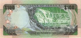 Jamaika / Jamaica P.75c 100 Dollars 1993 (1)