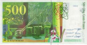 Frankreich / France P.160a 500 Francs 1995 (1)
