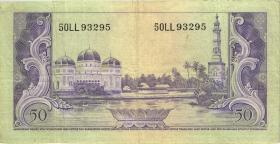 Indonesien / Indonesia P.050 50 Rupien (1957) (3)