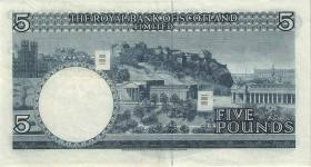 Schottland / Scotland P.330 5 Pounds 1969 (3+)